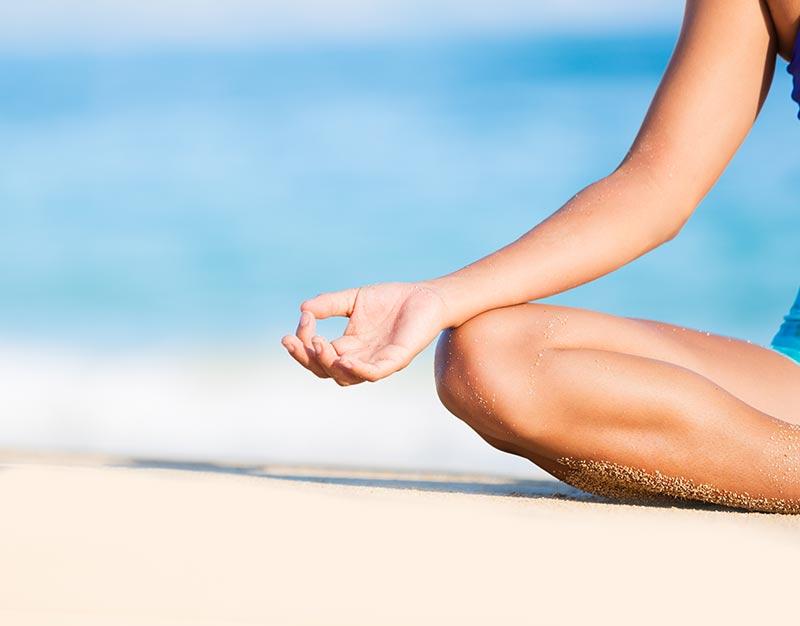 meditation-on-beach